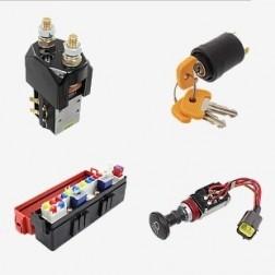 Электрооборудование вилочного погрузчика : запчасти для погрузчиков